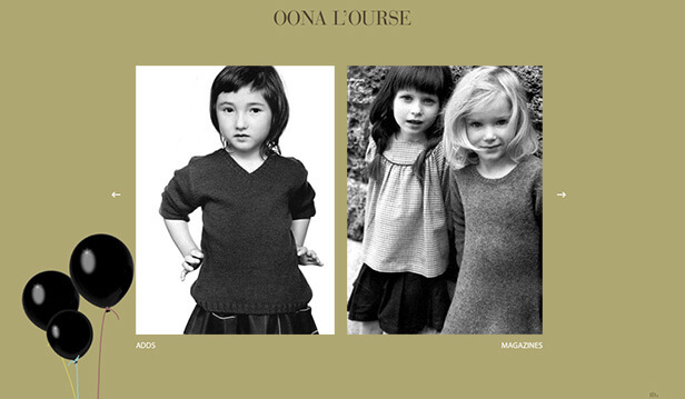 Oona L'ourse_网站开发