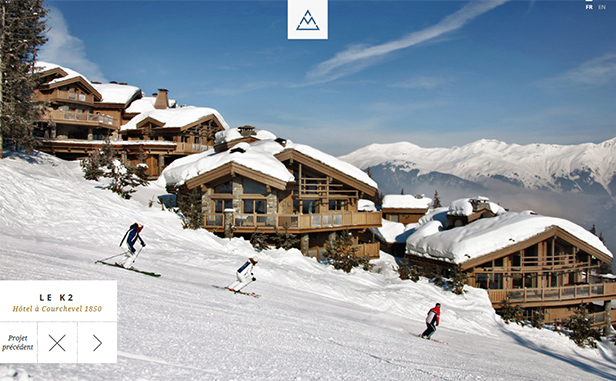 Architectes à Courchevel_网站开发