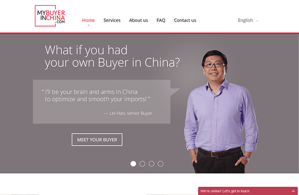 My Buyer in China_网站开发