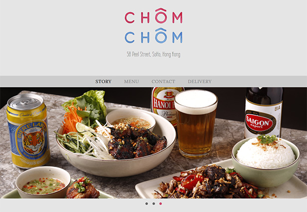 Chôm Chôm Restaurant_网站开发