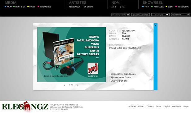 ELEGANGZ Agency_网站开发