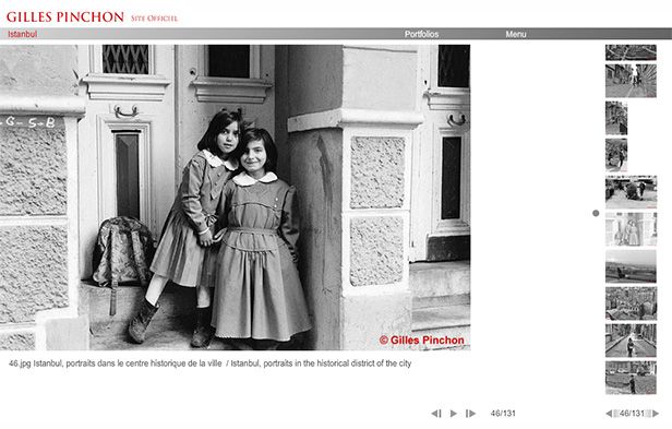 Gilles PINCHON_网站开发
