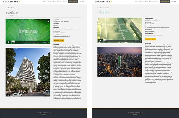 Golden Age_网站开发