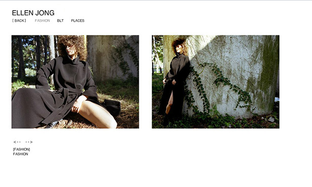 Ellen Jong ( Artist )_网站开发