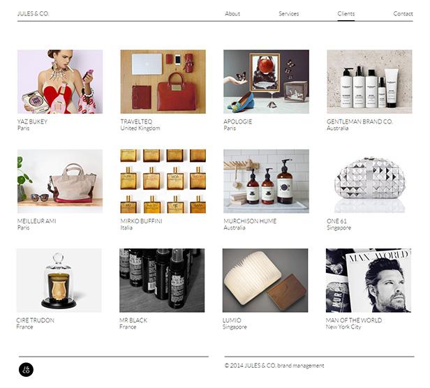 Jules & Co_网站开发