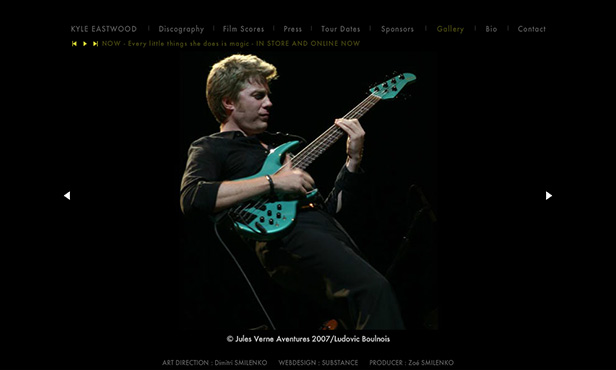 Kyle Eastwood ( Musician )_网站开发