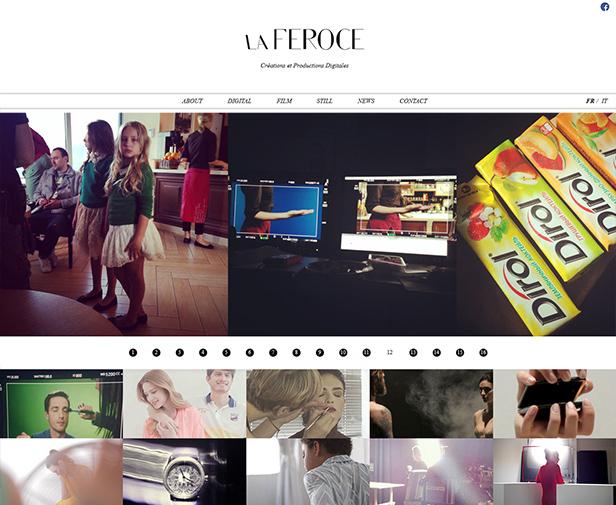 La Feroce_网站开发