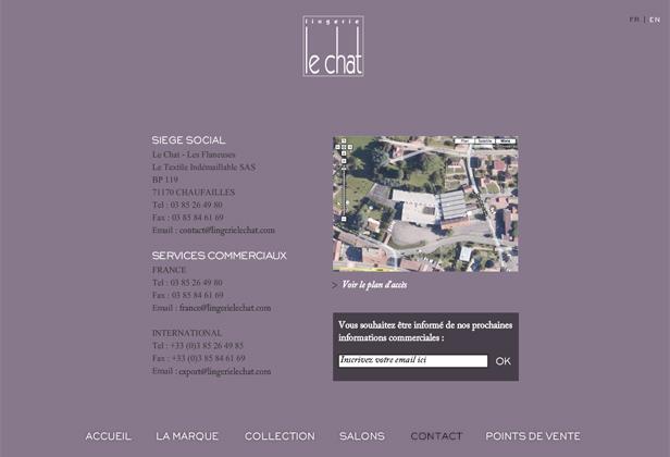 le chat_网站开发