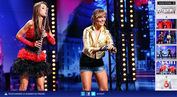 La France a un incroyable talent_网站开发
