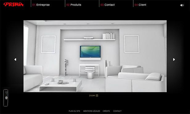 Prima France_网站开发