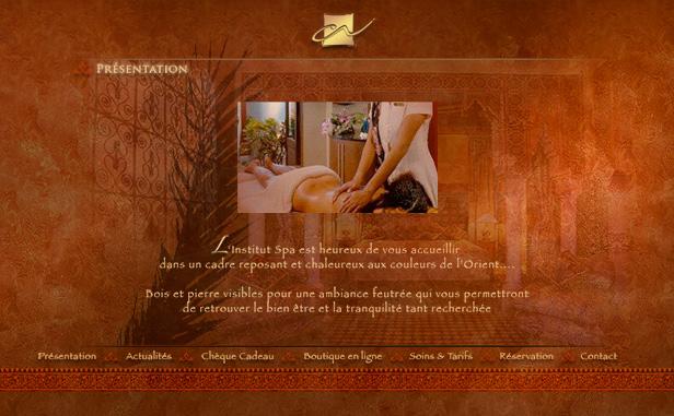 Caroline Nour Institut SPA_网站开发