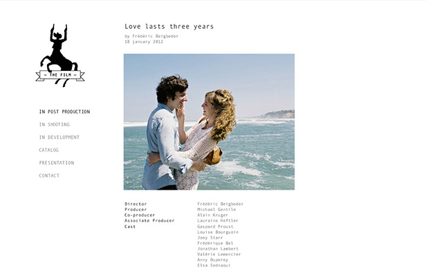 The film_网站开发