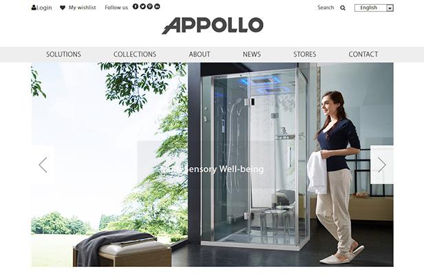 APPOLLO Sanitary Ware_网站开发
