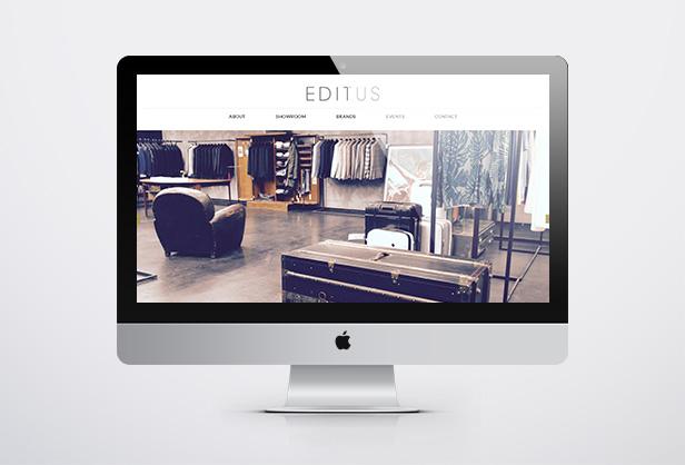 Ed1tus Showroom_网站开发